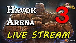 Havok Arena - Part 3 | Marvel Contest of Champions Live Stream thumbnail