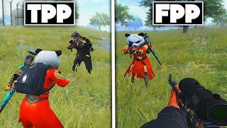 TPP vs FPP | EPIC 1 VS 1 | PUBG MOBILE