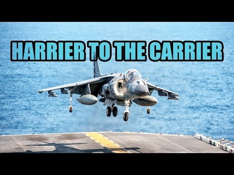 HARRIER TO THE CARRIER! DCS NEVADA