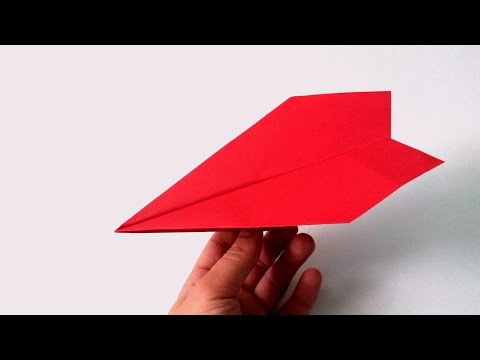 How to make a Paper Airplane Straight Line Fly - Best Easy Paper Airplanes - Fun Fly Paper Plane