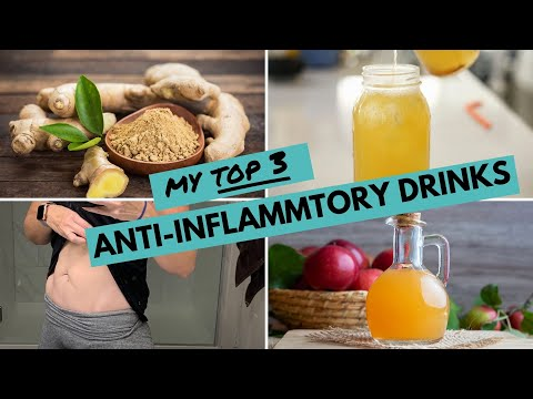 My Top 3 Anti-Inflammatory Drinks for WEIGHT LOSS + INFLAMMATION