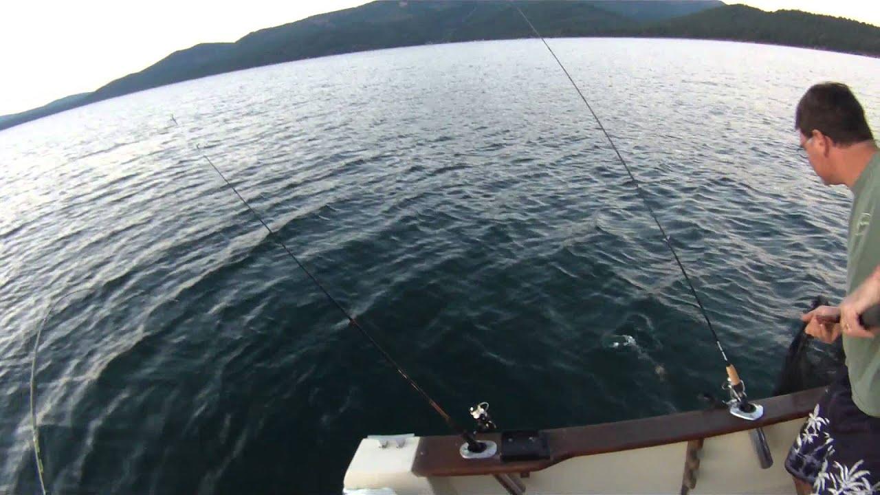 Lake almanor fishing youtube for Lake almanor fishing report