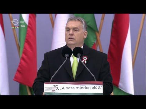Orbán Viktor beszéde - 2018. március 15.