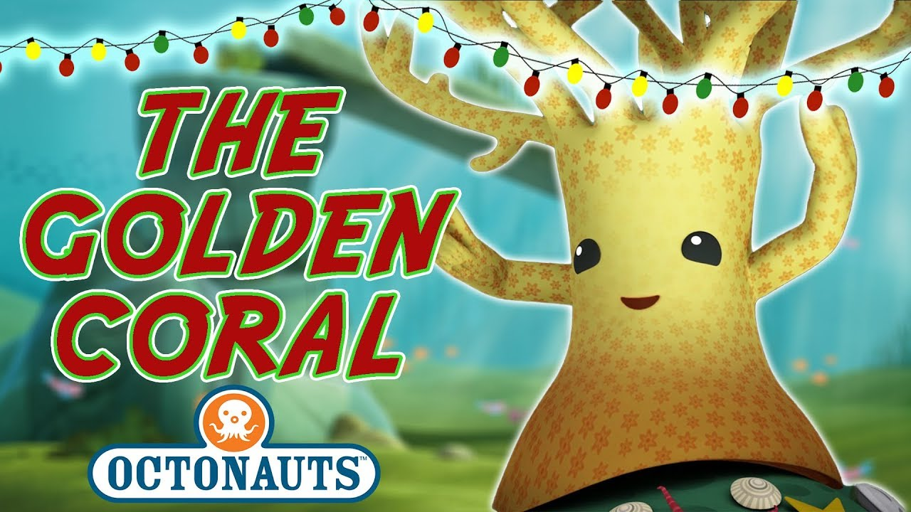 Octonauts - The Golden Coral | Merry Christmas! - YouTube