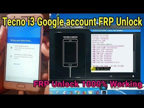 Tecno i3 FRP Unlock 100% Working Volcano Infernal Tool MTK Hard reset Tecno  i3 unlock