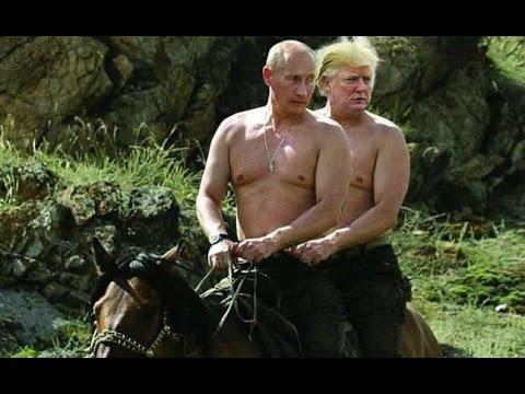 Смотреть онлайн клип Allen Dulles — Rootin' Tootin' Putin (feat. Donald Trump)