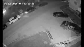 Севастополь. Пьяный урод разбивает машины