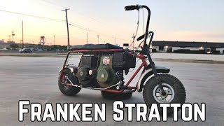 Rat Rod 16 HP Twin Engine Mini Bike Build