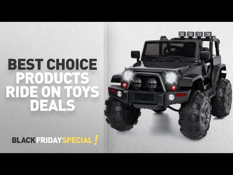 Walmart Top Black Friday Best Choice Products Ride On Toys Deals: Best Choice Products 12V Ride On