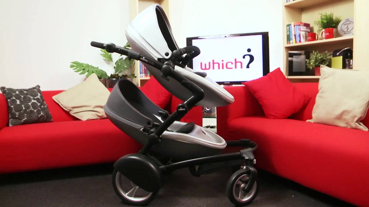 Wonderbaarlijk Review: Kinderwagen Mima Kobi (Which?) - YouTube JU-57