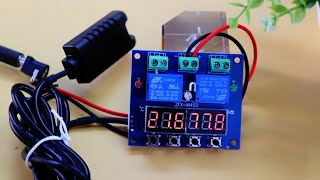 Digital Temperature and Humidity Controller Circuit ZFX M452 Review