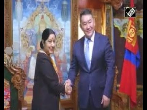 India News - Indian Foreign Minister meets Mongolian President to boost bilateral ties