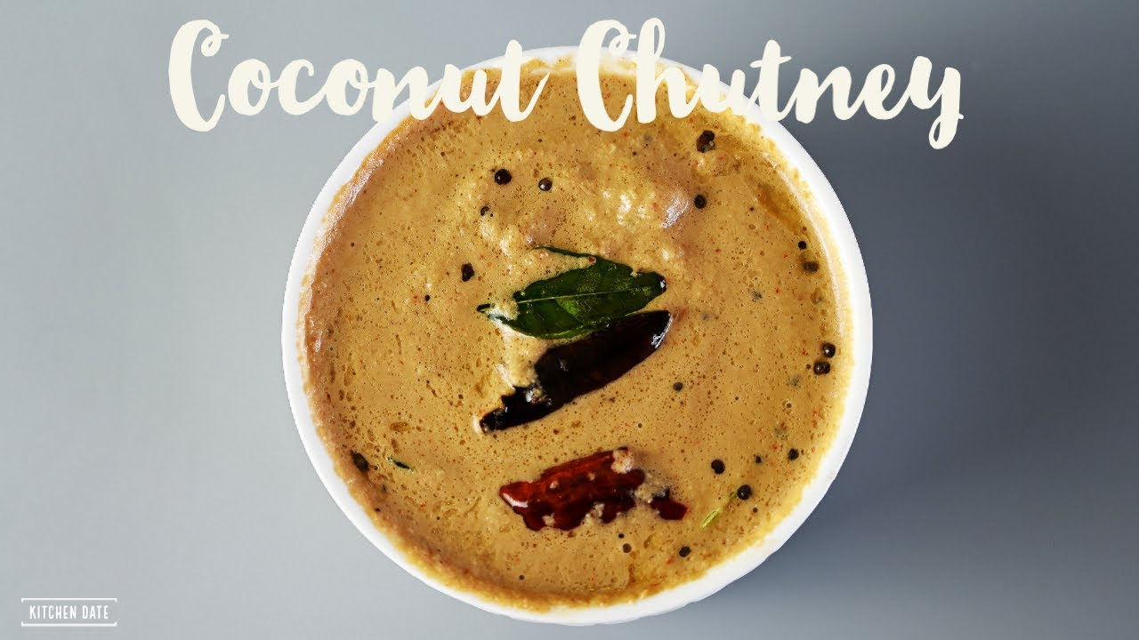 Tangy Coconut Chutney | Coconut Chutney for Idli, Dosa and Pongal | Spicy Coconut Chutney
