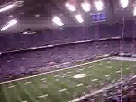 Colts Fans Rock Dome for AFC Championship