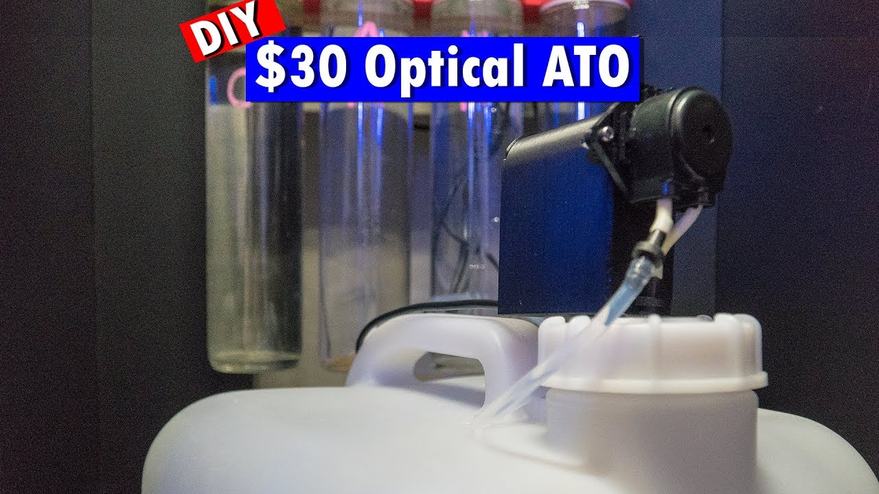 DIY $30 ATO using an Optical sensor to Automatically top off your water