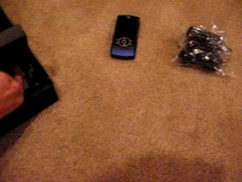 Motorola RIZR Z3 Unboxing