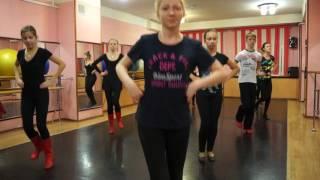 Урок танцев.Репетиция