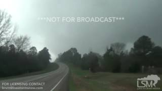 01-21-2017 Jefferson, TX Tornado/Hail