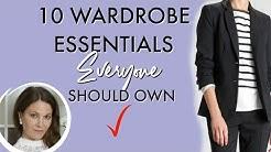 10 Wardrobe Essentials EVERYONE should own | Fashion Over 40