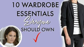 10 Wardrobe Essentials EVERYONE should own | Fashion Over 40