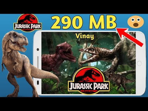290 MB Jurassic Park Warpath PS1 Game Highly Compressed Play All Android Phone