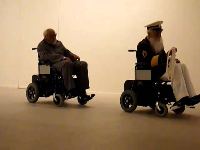 SUN YUAN & PENG YU - Old Persons Home (Wheelchair accident) (Saatchi collection) - december 2010