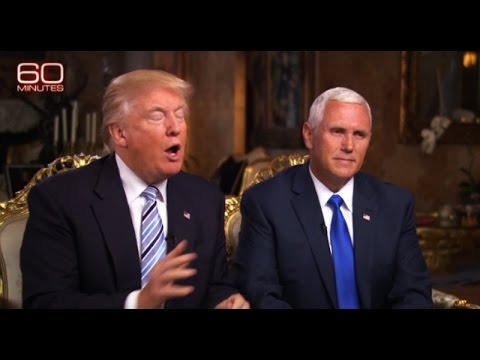 Trump & Pence Shit The Bed In 60 Minutes Interview