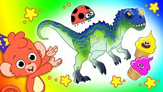 Cartoons for kids | Dinosaurs, Animals, Cars & Construction Vehicles | Club Baboo