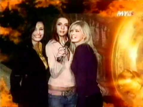 ВИА Гра [ЗС], съёмки для Муз ТВ, 2004 год