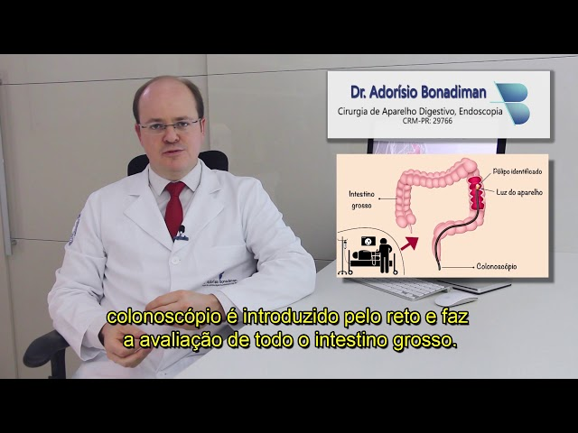Dr. Adorísio Bonadiman / Colonoscopia