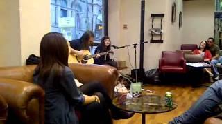 Kate McGill Cafe Nero Tour: A Team