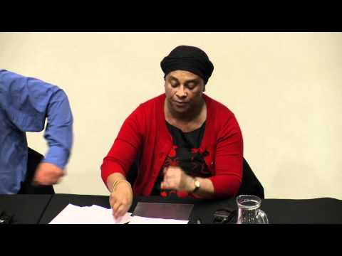 Doreen Lawrence speaks on the work of the Stephen Lawrence Trust at LSBU