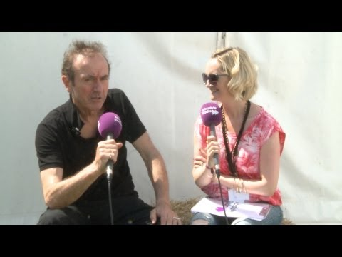 Hugh Cornwell (The Stranglers) Interview at Cornbury Festival 2013