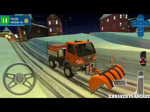 ski resort parking sim ice road snow plow trucker at. Black Bedroom Furniture Sets. Home Design Ideas