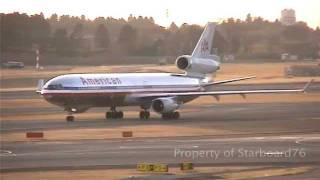 American Airlines MD11 at Narita New Tokyo International Airport