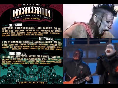 Slipknot/Mudvayne/Rob Zombie set for 2021 'Inkcarceration Music & Tattoo Festival'!