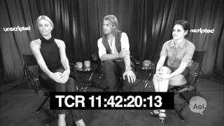 "Kristen Stewart, Charlize Theron and Chris Hemsworth, ""Snow White and the Huntsman"" Unscripted"