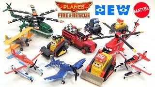 11 Disney Planes Fire and Rescue New Mattel Deluxe Die-Cast Toy Releases