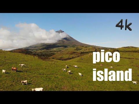 PICO ISLAND - FAIAL AZORES PORTUGAL DRONE 4K