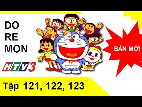 Phim hoạt hình Doremon tiếng Việt tập 121,122,123 HTV3 Full HD