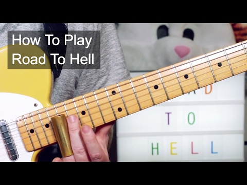 'Road To Hell' Chris Rea Guitar Lesson
