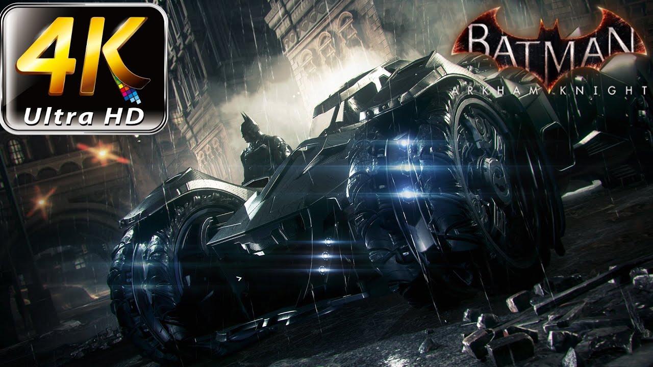 Batman Arkham Knight 4K Gameplay PC Ultra Settings (GTX ...