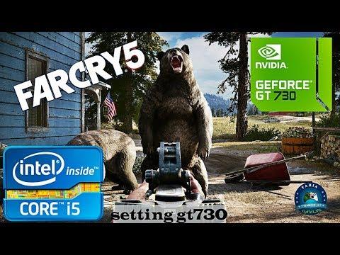 Far Cry 5 Gameplay on GeForce GT 730 | i5 4460 |