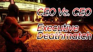GTA 5 Online - CEO Vs. CEO Executive Deathmatch [PS4 Gameplay E3]