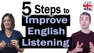 5 Steps to Impŗove Your English Listening - How to Improve Your English Listening