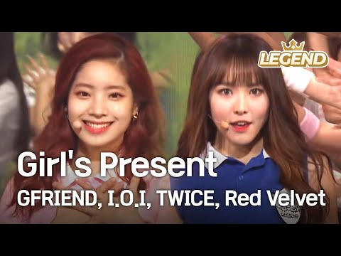 Girl's Present - GFRIEND,I.O.I,TWICE,Red Velvet  [2016 KBS Song Festival / 2017.01.01]