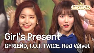 Download Girl's Present - GFRIEND,I.O.I,TWICE,Red Velvet  [2016 KBS Song Festival / 2017.01.01] Mp3 and Videos