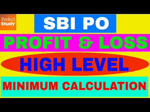 Profit and Loss - High Level Questions - SBI PO, IBPS, SSC, CAT - Fast Tricks & Tips - [In Hindi]