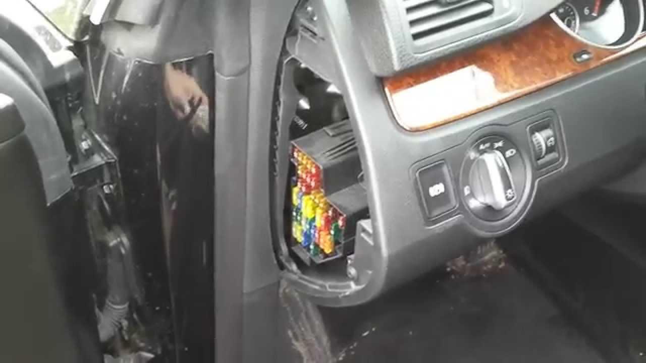 DIY: Change fuses on VW Passat CC  YouTube