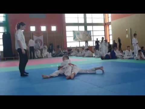 Wiki - I walka - IV Mistrzostwa Zabawa z Judo - Kąty Wrocławskie 11.05.2014